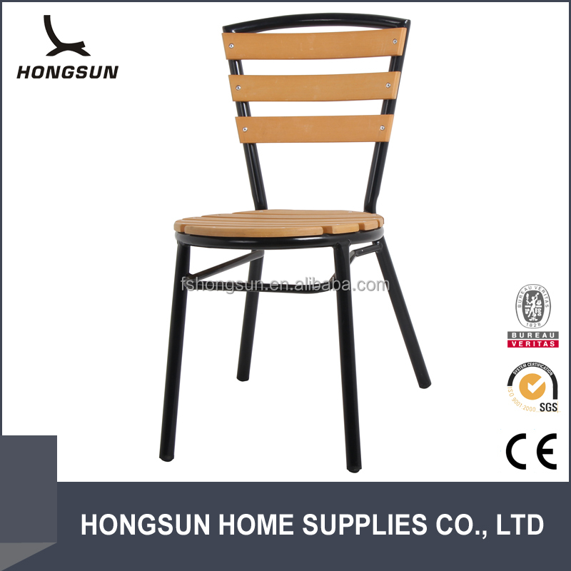 Hot sale garden furniture polywood side chair