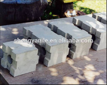 Liteblock mould concrete block mould interlocking hollow for Concrete foam block construction