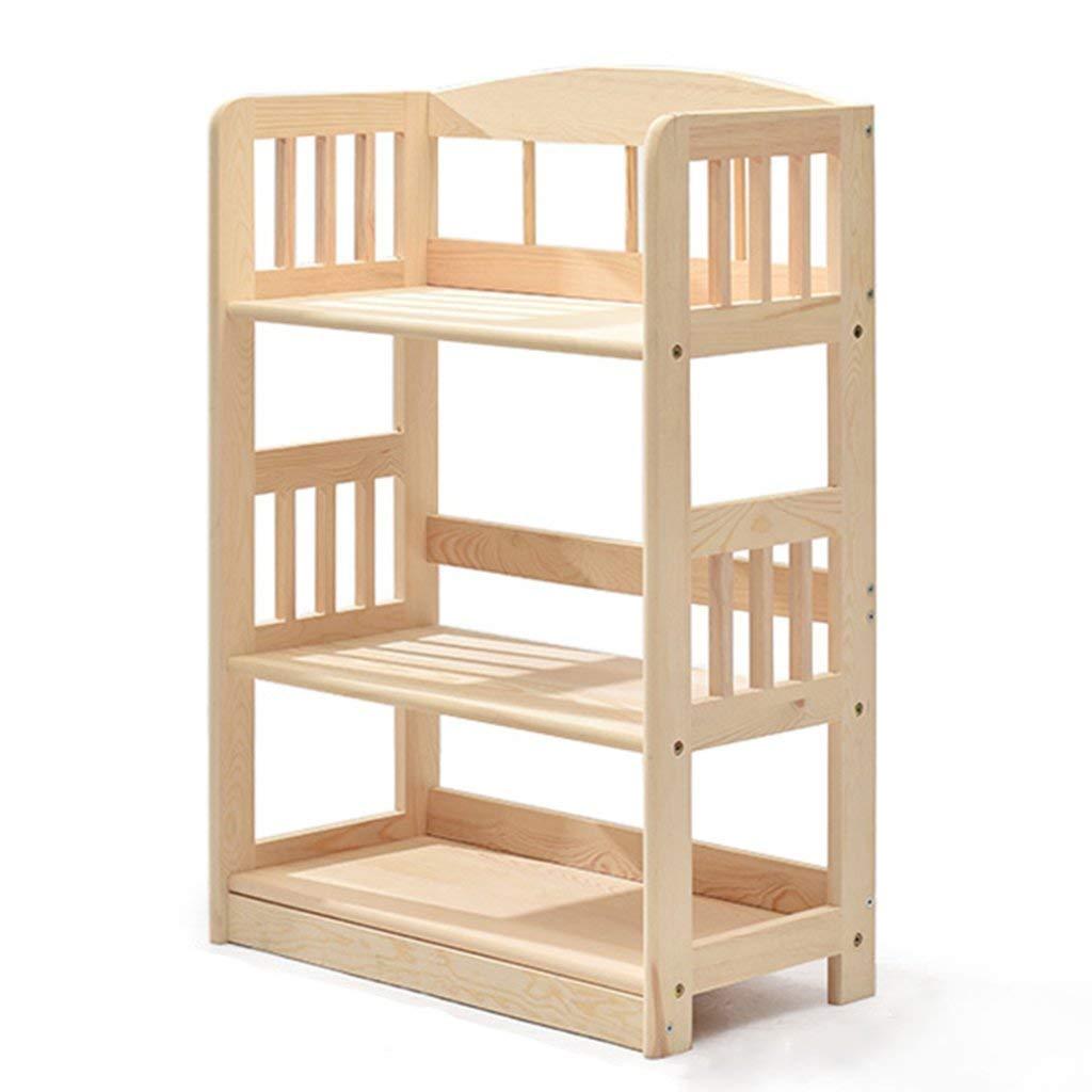 Bookshelf Bookcase Simple Multifunction Shelf Home Bookcase Floor Type Storage Shelf Office Display Stand Student Display Storage Furniture (Size : Style-1-3 tier)