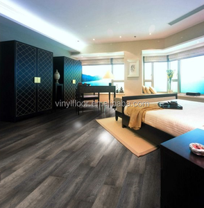 Sound Absorption Eco-friendly Wood Color Vinyl Flooring/Plastic Flooring/Vinil Plank