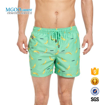 13b29ec661 Direct Manufacturer OEM Custom Print Swim Trunks Men Beach Shorts With  Pattern Digital Print Swimwear