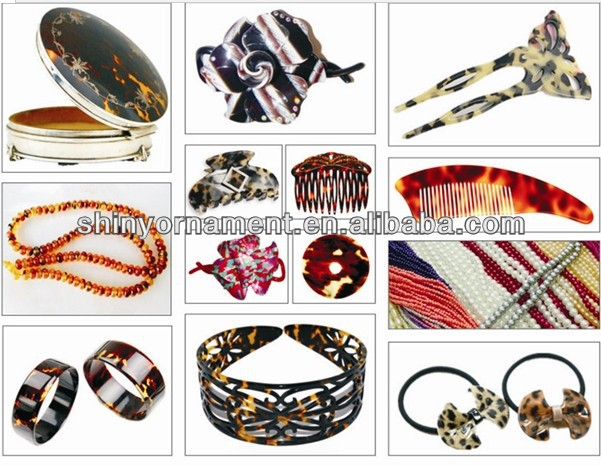 fashion celluoid jewelry