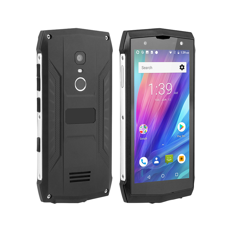 POPTEL P8 5 Inch Screen 3750mAh Battery NFC IP68 Waterproof 4g new <strong>Android</strong> Rugged mobile <strong>phone</strong>