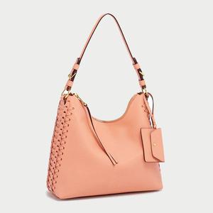 Handbag Faux Leather Pink 24de422b4fcc4