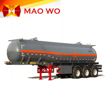 3 Axle 50CBM Capacity LNG Cryogenic Lorry Tanker Trailer for Sale