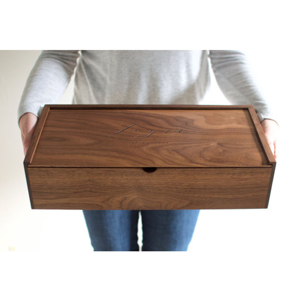 small craft boxes to decorate lightweight wooden box unfinished wood crates wholesale from China