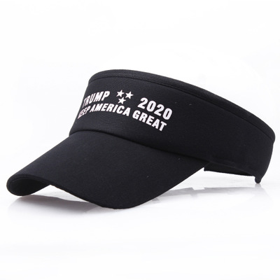 D987 Trump Keep America Great Men Women Outdoor Sports Visor Cap Empty Top Sun Hat beach hats
