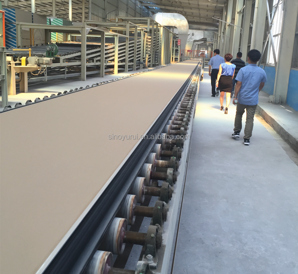 gypsum plaster manufacture machine plant decorate board production line