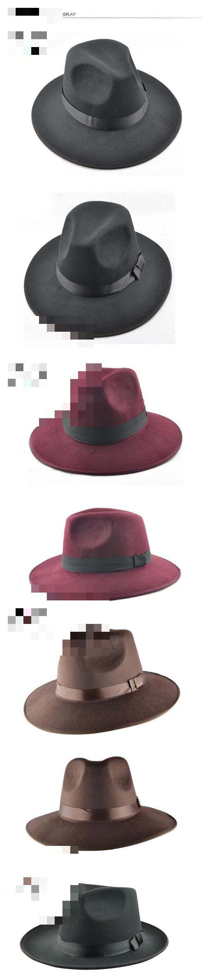 61bd2db0dda 2019 Wholesale YOCCAS Along The Winter Hat Vintage Jazz Cap Stage ...