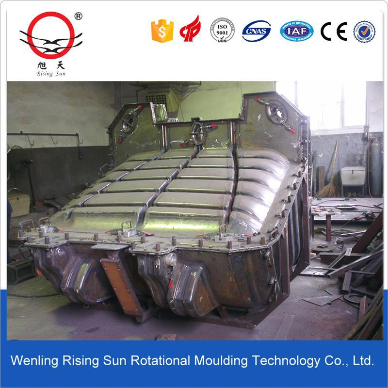 steel material rotomolding mould for making plastic LED light
