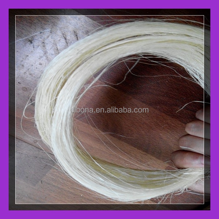Bottom price !!! Free samples!!High Quality UG and SSUG Natural raw sisal fiber / sisal fibre
