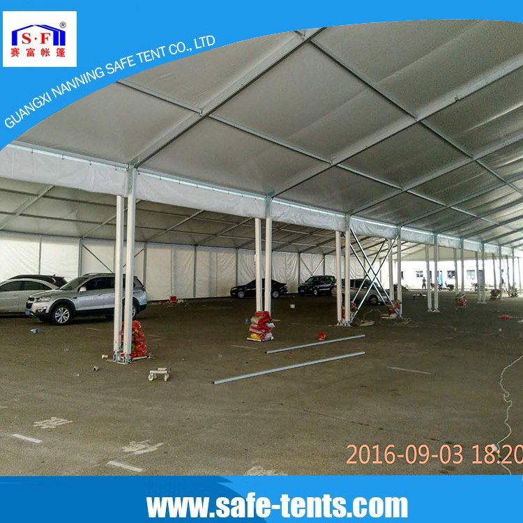 18m span width car parking tents for sale used industrial tents china