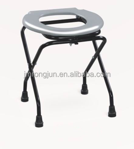 Portable Folding Commode Chair With Toilet Seat - Buy Commode ...