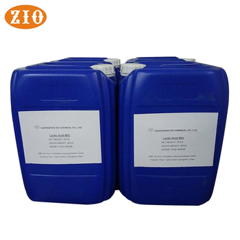 80%~90% Food Grade Lactic Acid price/ High Quality Lactic Acid Supplier