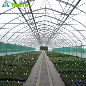 Polythene Tropical Reinforced Plastic Greenhouse Structure