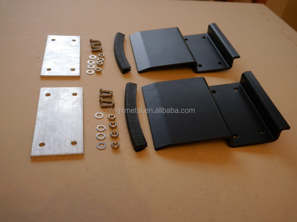 High Quality Stamping Heavy Duty Powder Coated Steel Roof Rack Brackets