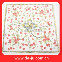 Embroidered Printing Pattern Fashional Handkerchief
