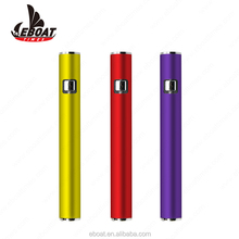 2018 English Amazon New Trending 320mAh 10mm Thick Cbd Oil Atomizer 510 Thread Vape Pens Batteries In Bulk