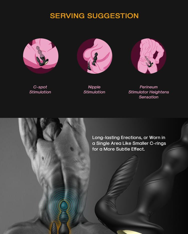 9 vibrationen fernbedienung anal perlen p spot stimulator vibrierende prostata massage massager maschine