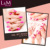 L&M High Quality Soak off Nail UV Builder Camouflage Gel for nail extension