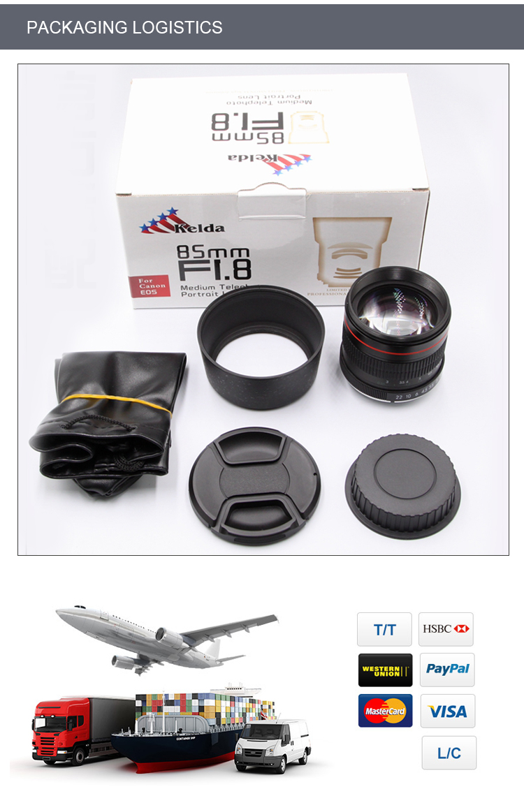 85mm f1.8 protrail lens 대 한 camera, 서, 초점을 맞 lens, 대 한 Canon 나 Nikon lens