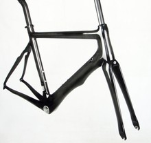 carbon road bike frame clear coating