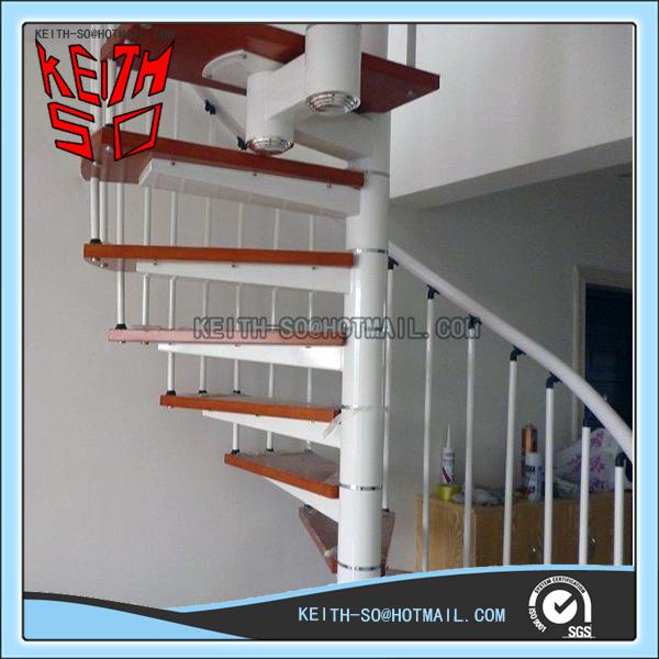 g nstigen preis design kohlenstoffstahl holz innen wendeltreppe buy product on. Black Bedroom Furniture Sets. Home Design Ideas
