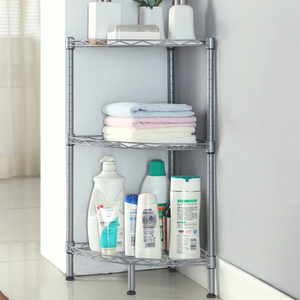 XM_216A 3 Tier bathroom organiser corner shelf