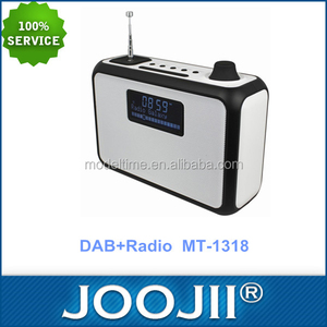 Wholesale 2017 high quality portable bluetooth V3.0 vintage FM DAB radio