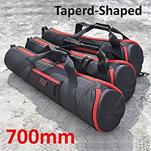 Foto.Studio 700mm Nylon Padded Camera Tripod Bag Light Stand Carrying Case Travel for Manfrotto Velbon Gitzo Slik etc 27.5 X 7.8 X 5 Inch Taperd-shaped