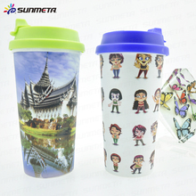 Hot Selling Custom Logo 3d Lenticular Sublimation Plastic Cup