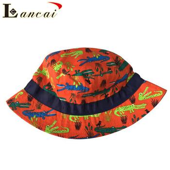 2018 New design custom printed cheap funny kids bucket hat fisherman hat d68866d64d73