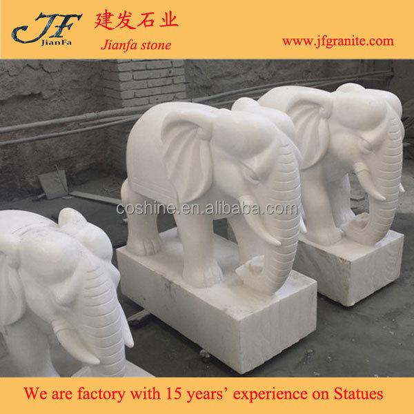 Antieke levensduur formaat witte marmeren olifant beelden te koop standbeelden product id - Oostelijke mozaiek ...