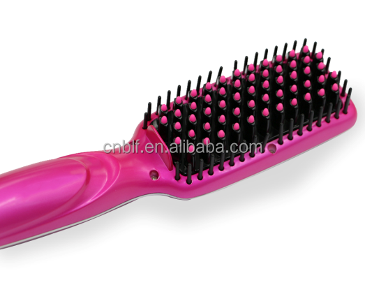 China manufacture price simply operation good function LCD usb powered hair straightener