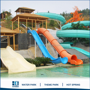 Barrel And Sled Slides And Swimming Pool Water Slide For Water Games Park