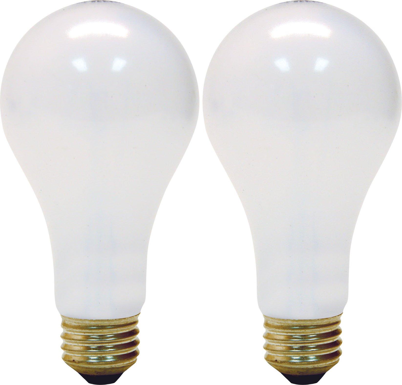 GE Lighting 97763 50/100/150-Watt 615/1540/2155-Lumen A21 3-Way Light Bulb, Soft White, 2-Pack