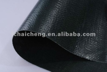 salable cheap black color tarpaulin pe tarp , 280g heavy duty pe woven fabric tarpaulin