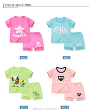 boys underwear 1-3 year-old 100% cotton short sleeve baby clothing