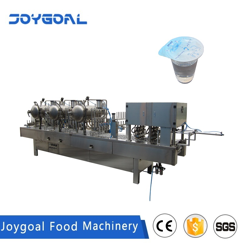JOYGOAL China manufacture water plastic cup filling sealing machine