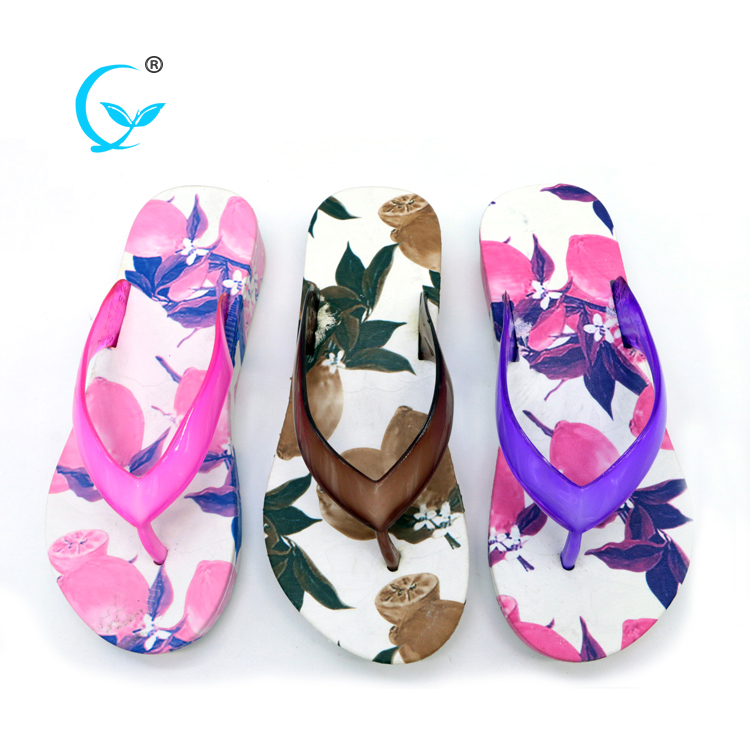 Promotional for ladies wholesale cheap colorful pvc slippersChina maoli