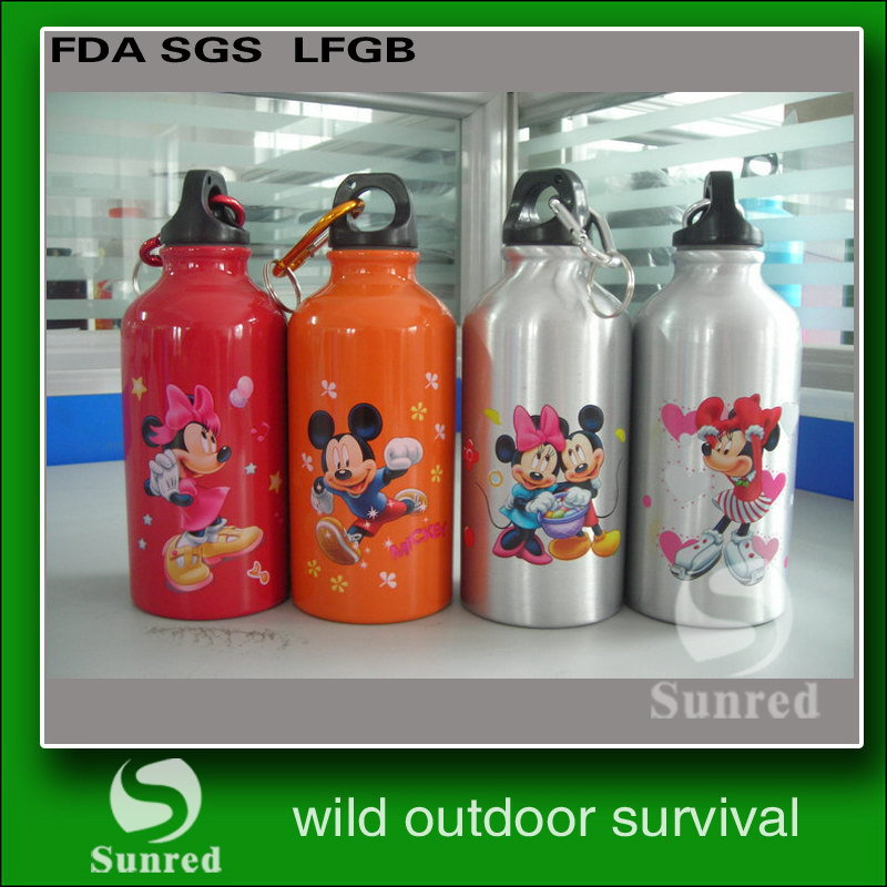 2016 new coming beach water bottles