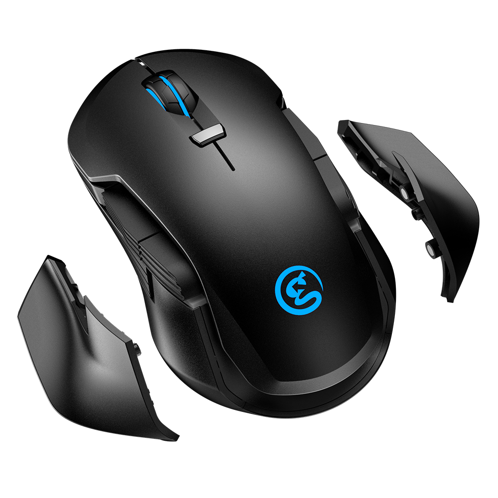 Gamesir GM300 5-level DPI (400/800/1600/3200/16000) gaming wireless mouse/2.4G USB dongle/OEM available фото