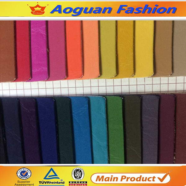 Guangzhou factory price micro touch pu leather
