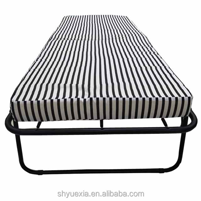 2018 new design portable Metal folding bed for home hotel ourdoors camping use