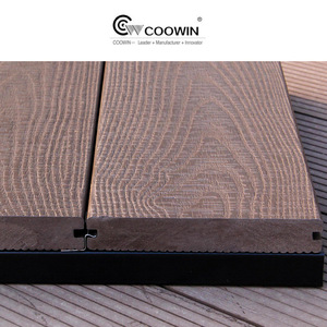 wpc prefab decks/wood composite outdoor decking flooring