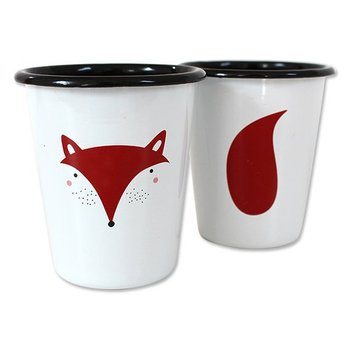 High quality customized enamel tumbler mug with rolled rim