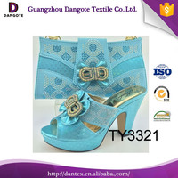 2016 Dangote new design Italian Matching Shoes And Bags/ Ladies Shoses And Bags To Match/High Heel Shoes Hand Bags TY3321