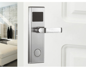 304 Stainless Steel EM4305/M1 RFID Card Door Hotel Lock System RFID Card Key Card Lock