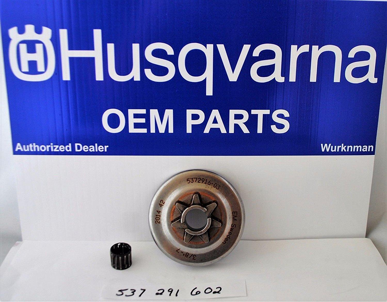 Husqvarna OEM Chainsaw Bulkhead Partition Kit 503764801 Fits 51 55
