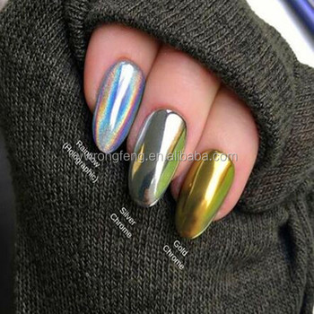 Rainbow Holographic Glitter Powder For Nails - Buy Holographic ...